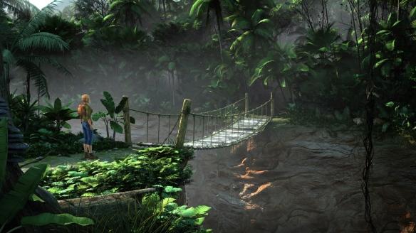 Sur le pont dans la jungle, on en tombe, on en tombe !